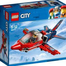 Phi Cơ Biểu Diễn Trên Không LEGO CITY – 60177 (87 chi tiết)