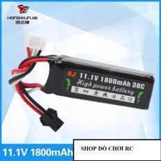 Pin đồ chơi 11.1V dung lượng 1800mAh chuẩn kết nối SM