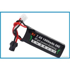 Pin đồ chơi 7.4V dung lượng 1800mAh chuẩn kết nối SM