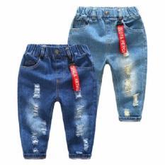 Quần jean cho bé trai và gái (rách)