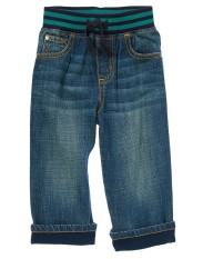 Quần jeans bé trai Gymboree Cuffed Pull-On jeans