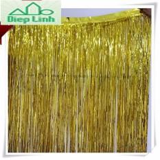 Rèm trang trí rèm kim tuyến màu vàng và màu bạc 1m x 3m- Diệp Linh
