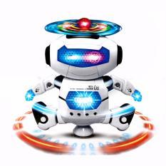 Robot Biết Hát Và Xoay 360 Độ (Trắng)