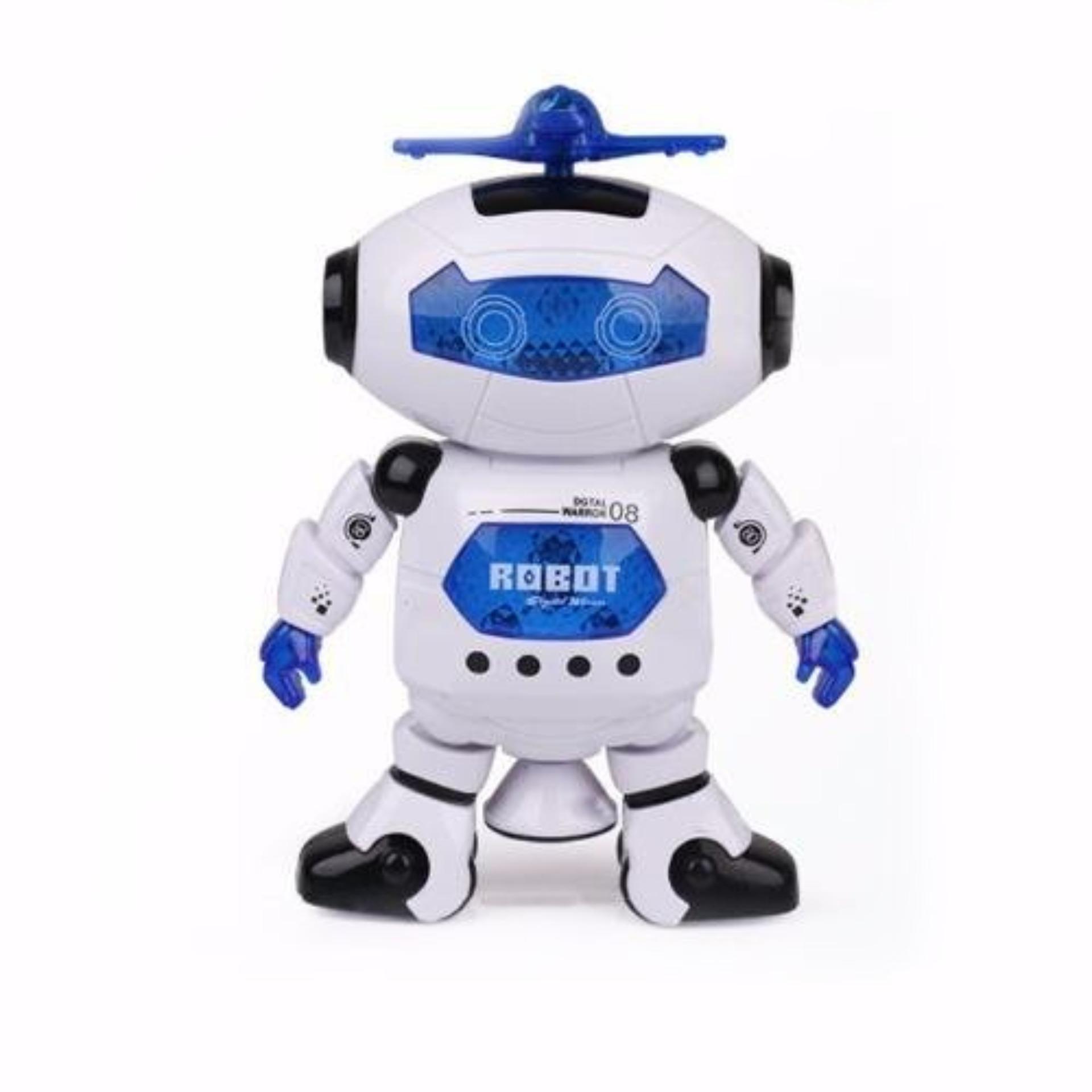 Robot Biết Nhảy Và Hát Xoay 360 Độ US04019