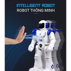 Robot Điều Khiển Thông Minh, Cảm Ứng Cử Chỉ, Nhảy , Múa , Hát, Kể Chuyện, Nói Tiếng Anh, Tiến, Lùi, Rẽ Trái- Phải