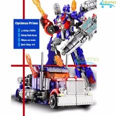 Robot Transformer lắp ráp thành ôtô cao 22cm mẫu Optimus Prime