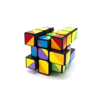 Rubik Trơn 3×3 YJ Unequal Rainbow