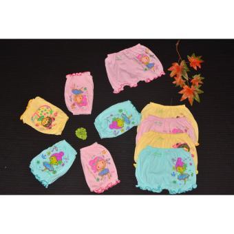 Set 10 quần đùi phồng màu hình size6