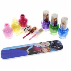Set Làm Nail 6 Màu Sắc Frozen Disney USA