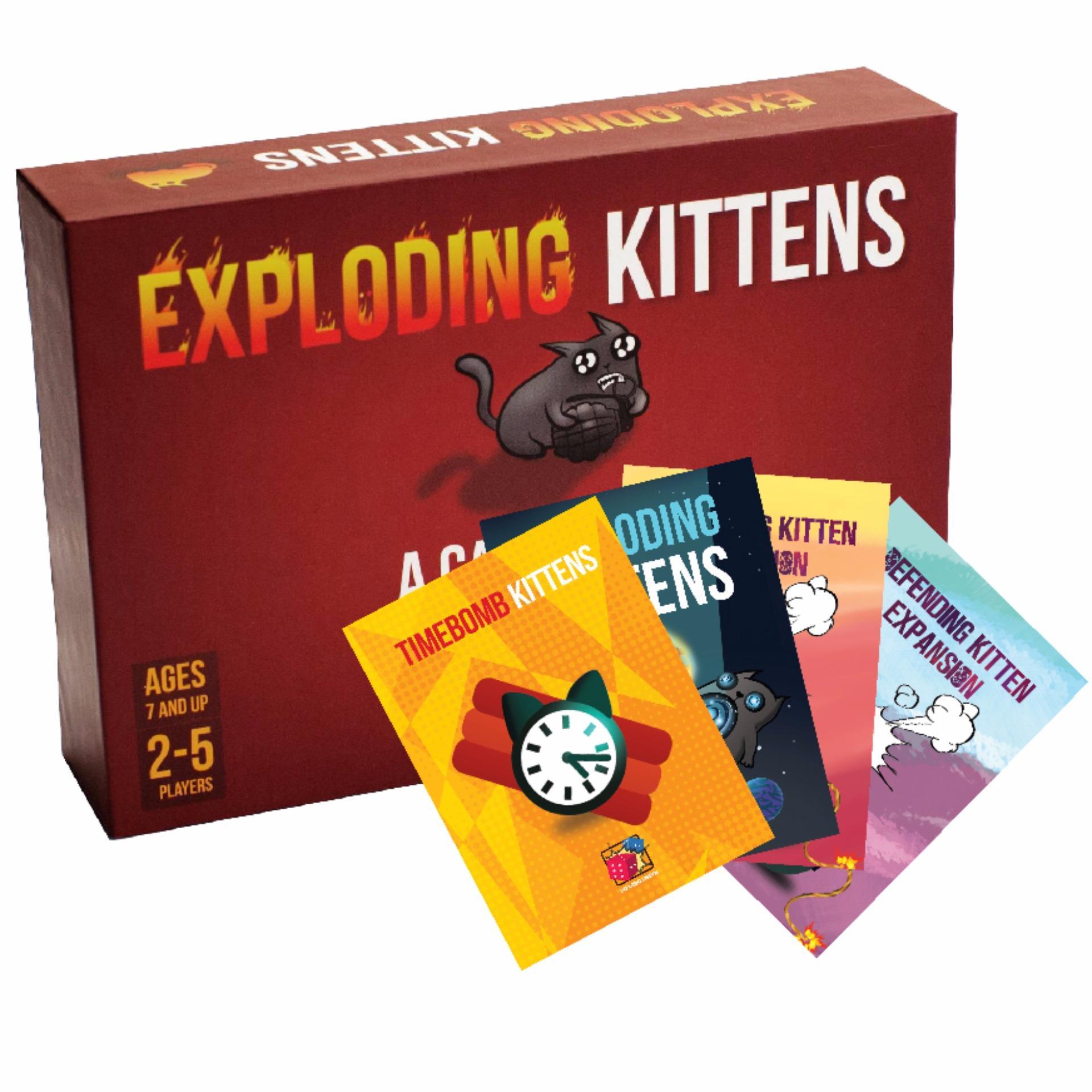 Set Mèo Nổ Tưng Bừng: Combo Mèo nổ + 4 Bản mở rộng