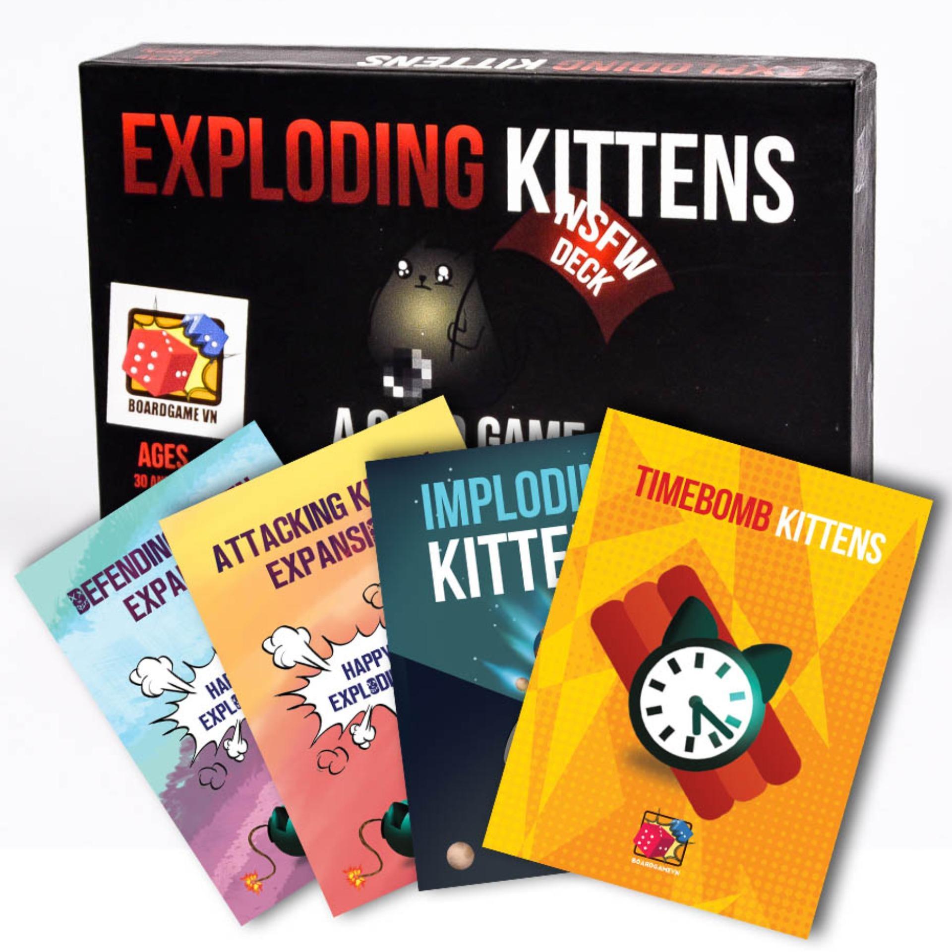 Đánh Giá Set Mèo Nổ Tưng Bừng: Combo Mèo nổ NSFW + 4 Bản mở rộng