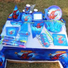 Set trang trí sinh nhật hình Người Nhện