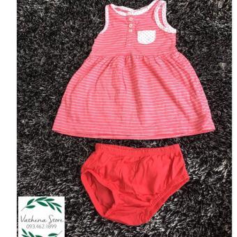 Set váy xuất khẩu bé gái