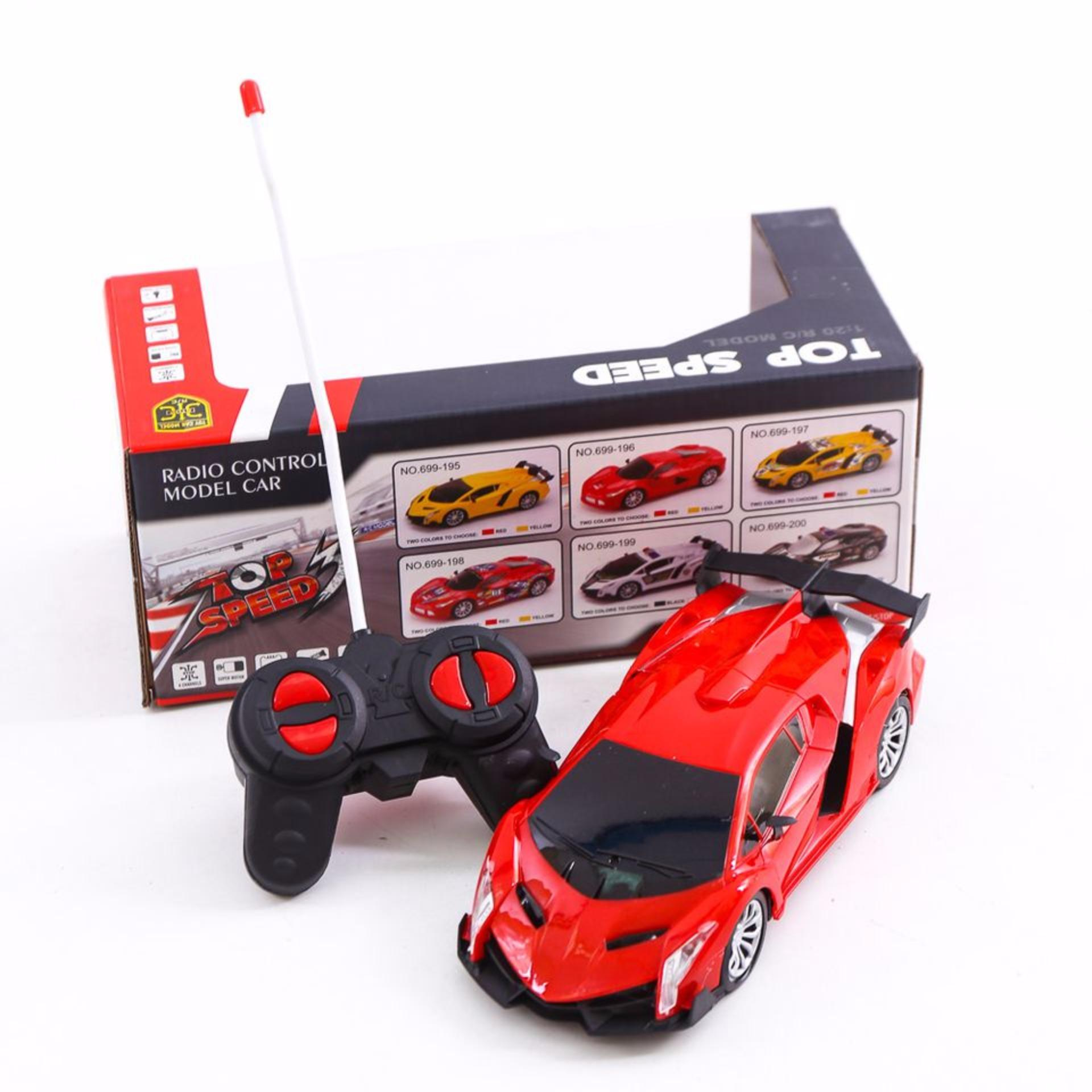 Ô tô điều khiển từ xa giá rẻ – Siêu phẩm thông minh cho bé (Đỏ)