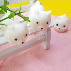 ► Squishy ◄ Mochi Squishy Cáo Hồ Ly (Trắng) – (Shop còn rất nhiều loại Squishy như gấu trúc, minion, gato, mochi squishy…)