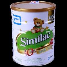 Sữa bột Abbott Similac gain 2 IQ 400g (Hộp thiếc)