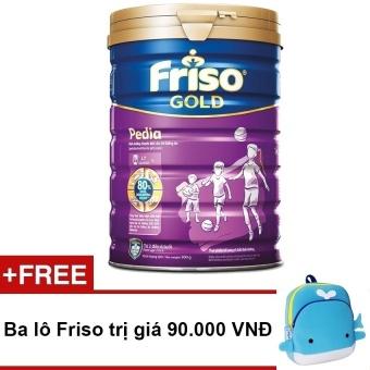 Sữa bột Friso Gold Pedia 900g + Tặng 1 ba lô Friso trị giá 90.000 VNĐ