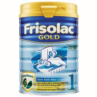 Sữa bột Frisolac Gold 1 400g.
