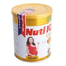 Sữa bột NUTI IQ MUM GOLD Hương chocolate 900g