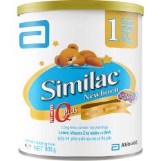 Sữa bột Similac Newborn IQ 900g - new