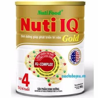 Sữa Nuti IQ gold step 4 900g