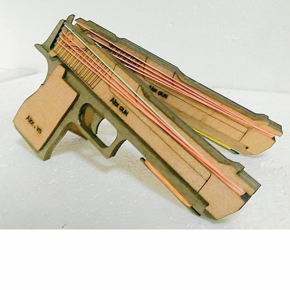 súng bắn thun trung thu đồ chơi