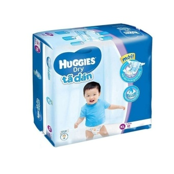 Tã dán Huggies Dry Super Jumbo XL62