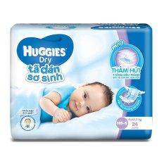 Tã dán sơ sinh Huggies S24 (0 - 7kg) 24 miếng