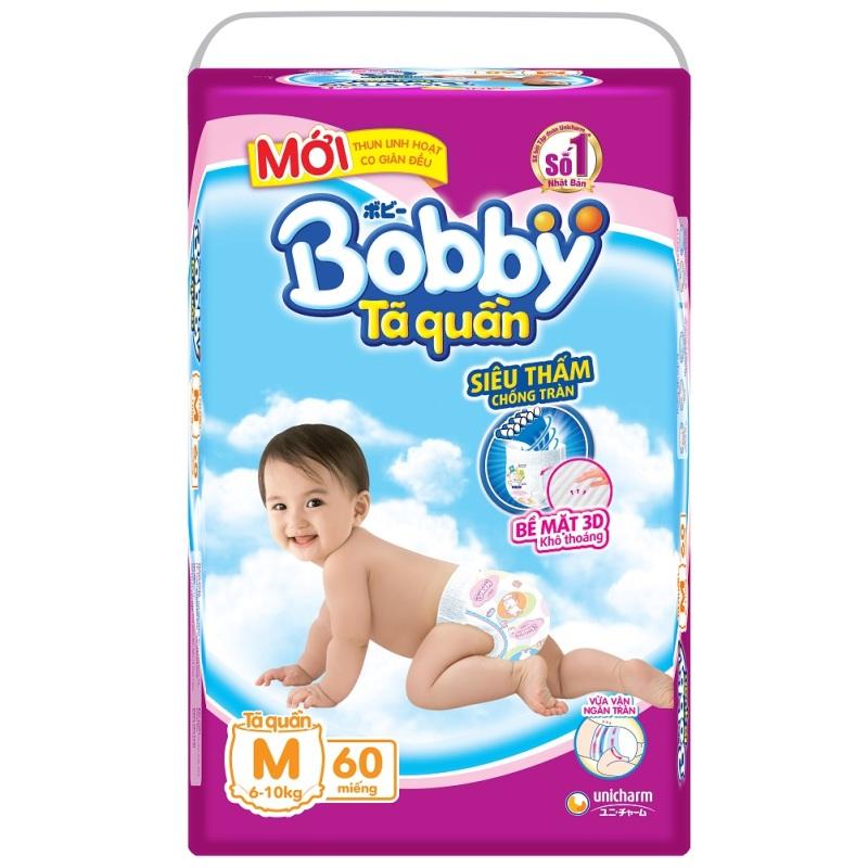Bảng giá Tã quần Bobby M60