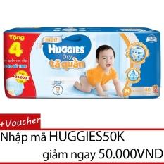 Tã quần HUGGIES DRY PANTS JUMBO M40 (6-11kg) - Gói 40 miếng(Tặng4miếng tã quần cao cấp dành cho bé trai)