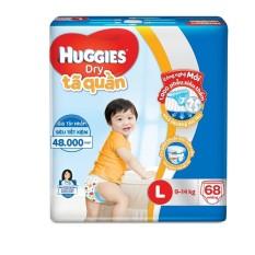 Tã quần Huggies Super Jumbo L68