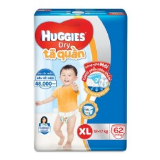 Tã quần Huggies Super Jumbo XL62