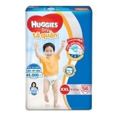 Tã quần Huggies Super Jumbo XXL56