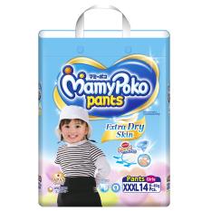 Giá Khuyến Mại Tã quần Mamy Poko XXXL14 (Girl)