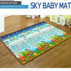 Thảm Chơi Cho Trẻ SKY BABY MAT 12MM 2 MẶT