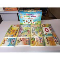 Thẻ học flashcard cho bé 12 chủ đề cỡ đại