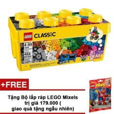 Thùng gạch Lego Classic Sáng Tạo 10696 484 chi tiết + Tặng bộ lắp ráp LEGO ngẫu nhiên trị giá 179.000VND