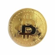 [HCM]Tiền Đồng Xu Bitcoin Mạ Vàng