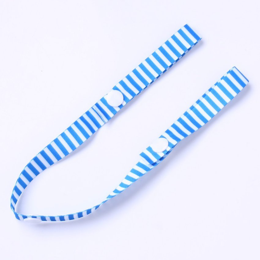 Toys Fixed Stroller Accessory Strap Holder Bind Belt Toy Anti Lost Band Blue