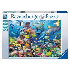 Tranh ghép hình jigsaw puzzle Ravensburger Underwater 2000 mảnh