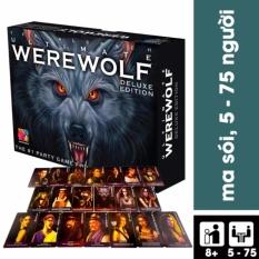 Ma sói – Bộ Game bài giải trí nhóm Ma sói Ma Sói Ultimate Deluxe – Phiên bản Tiếng Việt