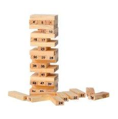 Trò chơi rút gỗ 54 thanh (Chọn Màu)USA0001