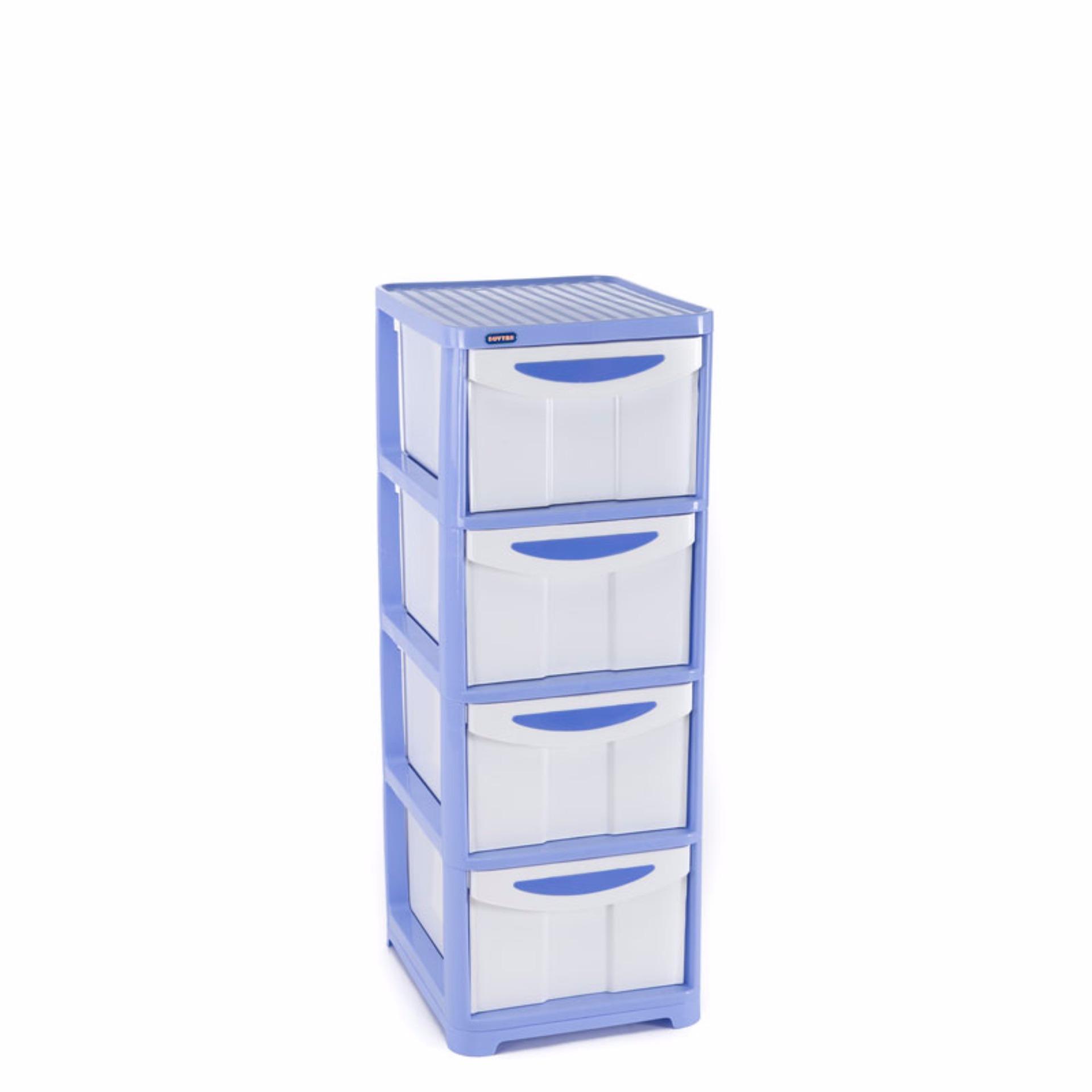 Tủ nhựa Duy Tân Lớn 4 tầng (Dương)