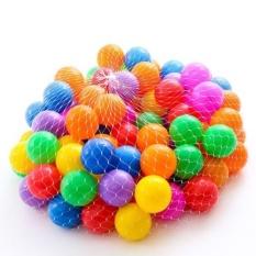 Túi 100 quả bóng chơi cho bé hấp dẩn
