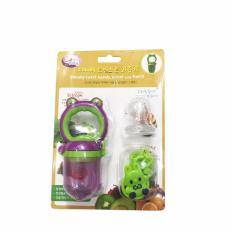 Trang bán Túi nhai chống hóc cho bé hình ếch GB Baby (Tím phối xanh lá)