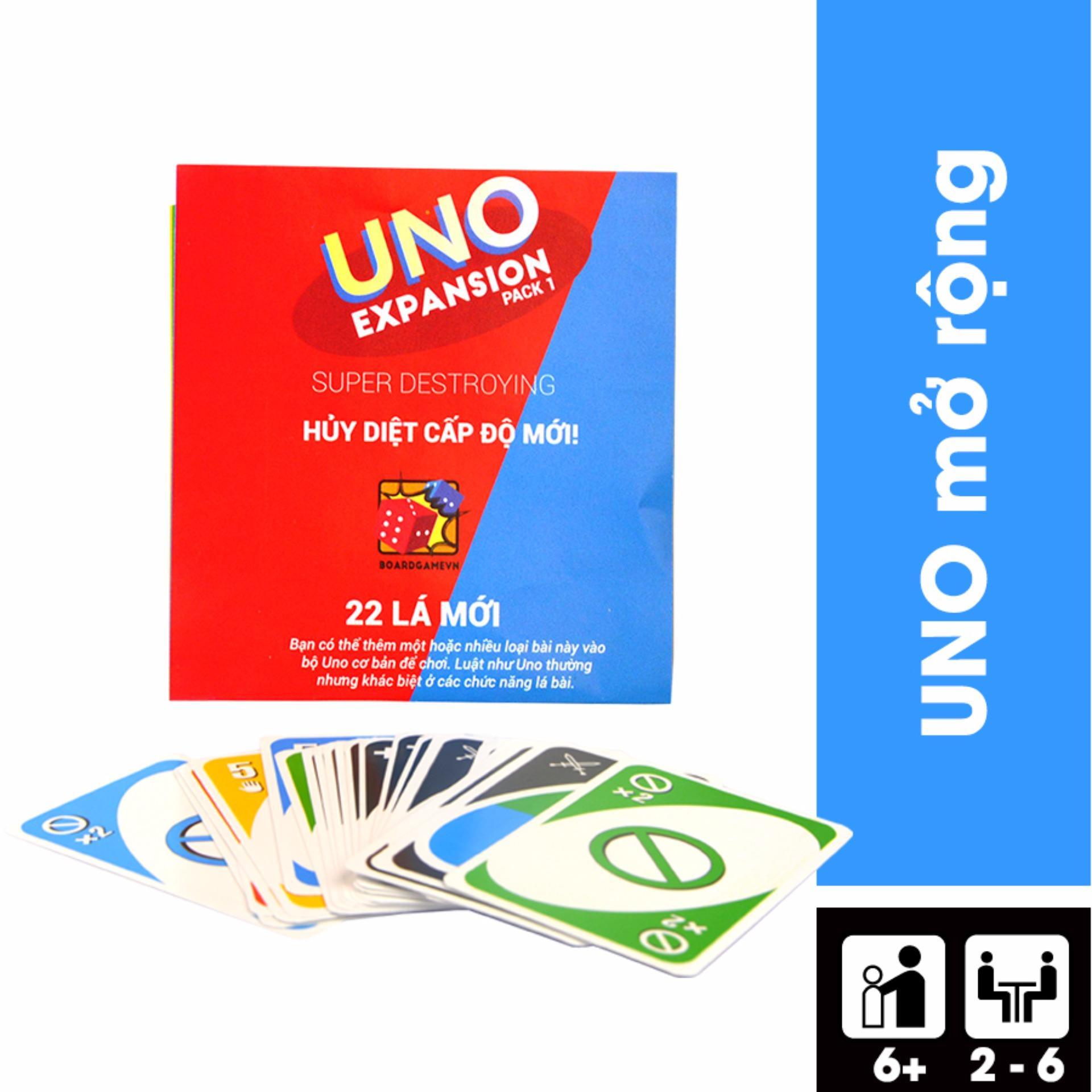 Uno battle – Bản mở rộng #1 của Uno