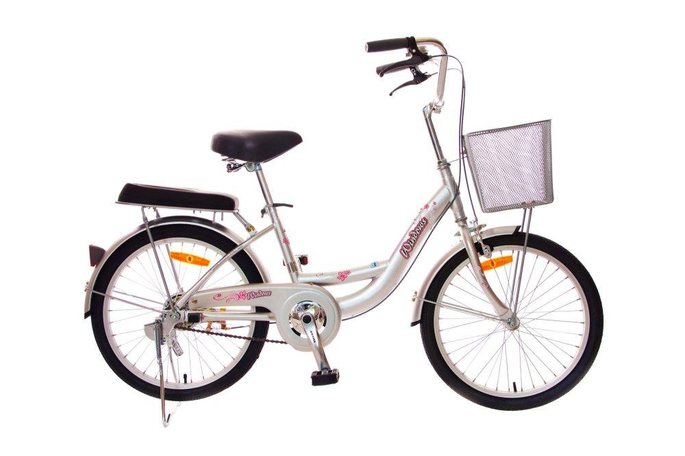 Xe đạp trẻ em Asama THL 20 (Bạc)