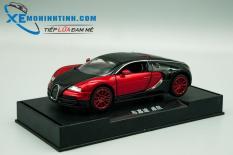 Xe Mô Hình Bugatti Super Sport 1:32 Double Horses (Đỏ)