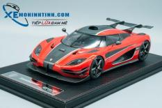 Xe Mô Hình Koenigsegg One:1 1:18 Frontiart (Đỏ)