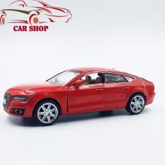 XE MÔ HÌNH – Mô hình xe kim loại Audi A7 tỉ lệ 1:32 ( Màu Đỏ)